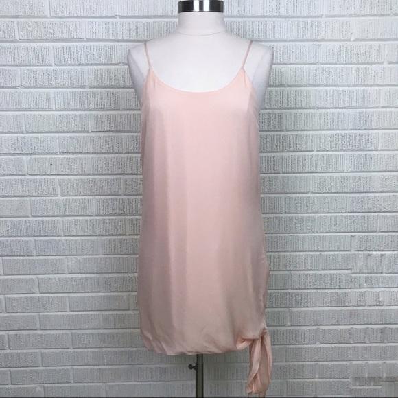 bec687f8eec6 Haute Hippie Dresses | Blush Pink Silk Tie Bottom Dress Nwot | Poshmark